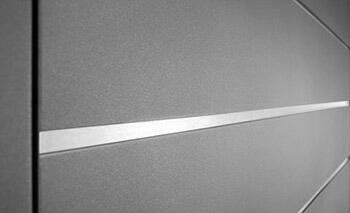 Декоративна аплікація для гаражних воріт CONNECT wisniowski - Нержавіюча сталь