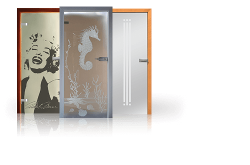 Повністю скляні двері wisniowski для дому
