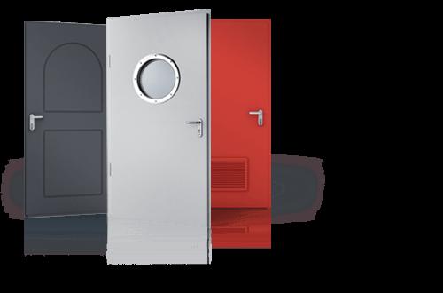 Внутрішні сталеві двері для дому