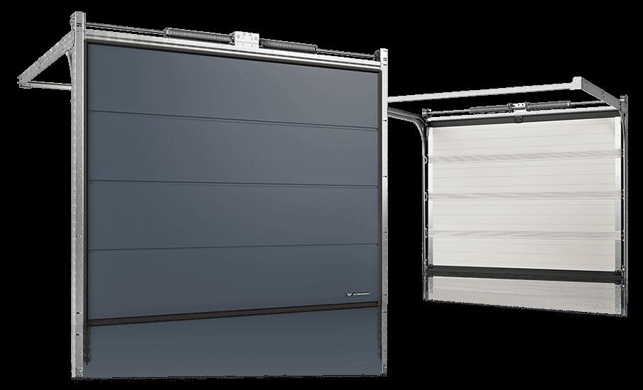 Висока надійність гаражних воріт UniTherm до вітрового навантаження, водонепроникності та повітропроникності