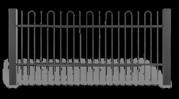 Система елементів для огорожі STYLE візерунок AW.10.08