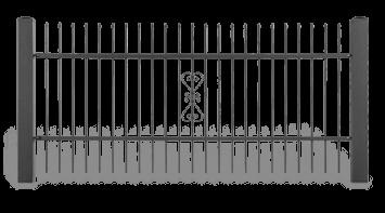 Система елементів для огорожі STYLE візерунок AW.10.09