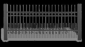 Система елементів для огорожі STYLE візерунок AW.10.12