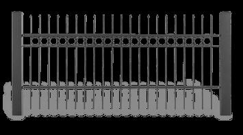 Система елементів для огорожі STYLE візерунок AW.10.14