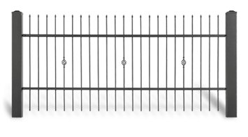 Система елементів для огорожі STYLE візерунок AW.10.22
