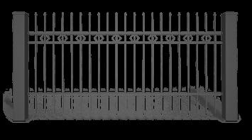 Система елементів для огорожі STYLE візерунок AW.10.25