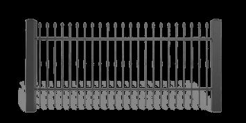 Система елементів для огорожі LUX для дому. Візерунок AW.10.60