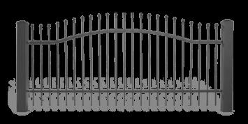 Система елементів для огорожі LUX для дому. Візерунок AW.10.62