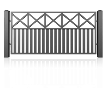 Система елементів для огорожі MODERN для дому. Візерунок AW.10.103