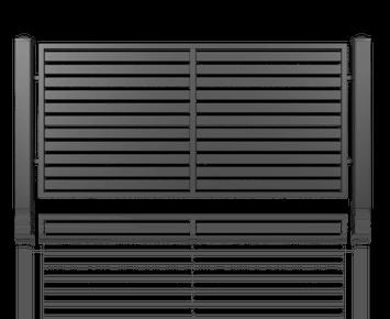 Система елементів для огорожі MODERN для дому. Візерунок AW.10.104