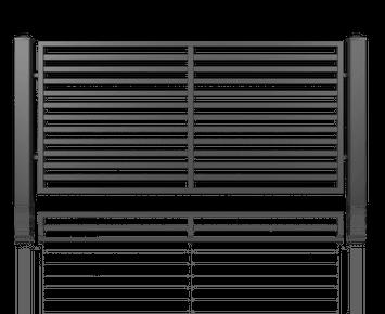 Система елементів для огорожі MODERN для дому. Візерунок AW.10.105