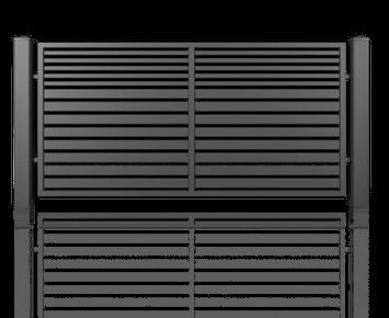 Система елементів для огорожі MODERN для дому. Візерунок AW.10.106