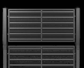 Система елементів для огорожі MODERN для дому. Візерунок AW.10.107