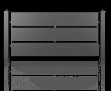 Система елементів для огорожі MODERN для дому. Візерунок AW.10.110