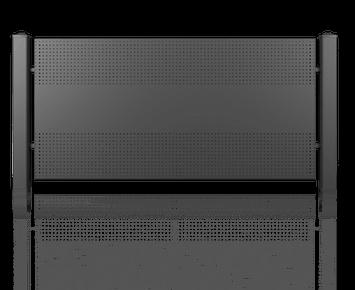 Система елементів для огорожі MODERN для дому. Візерунок AW.10.112