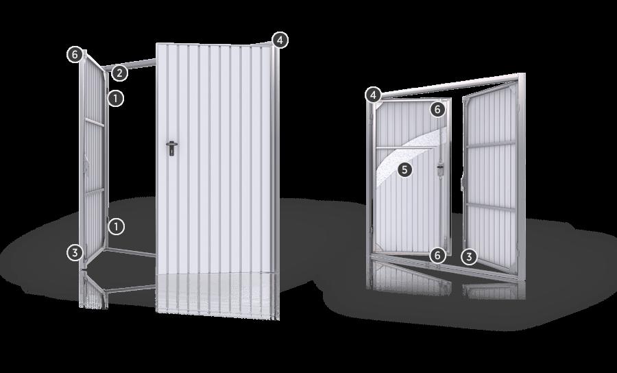 Розпашні ворота для гаражу wisniowski - функціональність та безпека