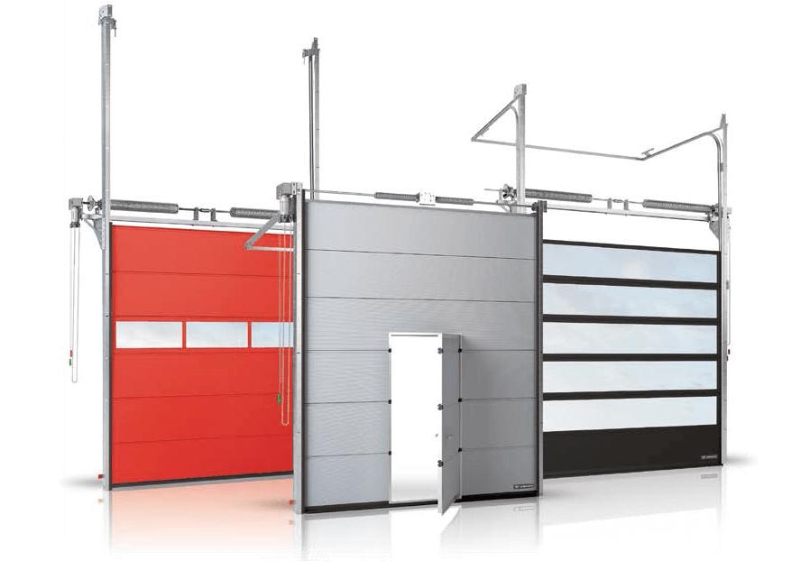 Секційні ворота MakroPro для промислових об'єктів
