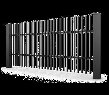 Система елементів для огорожі CLASSIC для дому. Візерунок AW.10.02
