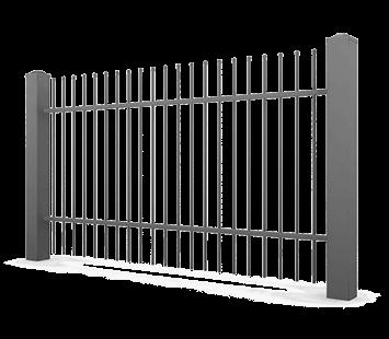 Система елементів для огорожі CLASSIC для дому. Візерунок AW.10.04