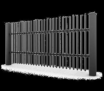 Система елементів для огорожі CLASSIC для дому. Візерунок AW.10.05