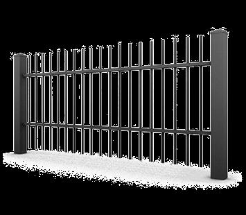 Система елементів для огорожі CLASSIC для дому. Візерунок AW.10.06