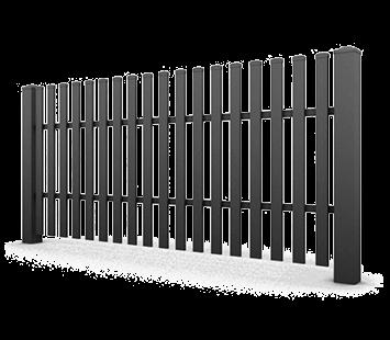 Система елементів для огорожі CLASSIC для дому. Візерунок AW.10.17