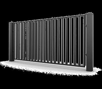 Система елементів для огорожі CLASSIC для дому. Візерунок AW.10.70