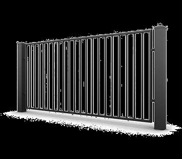 Система елементів для огорожі CLASSIC для дому. Візерунок AW.10.71