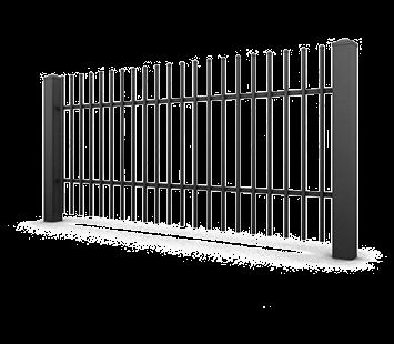 Система елементів для огорожі CLASSIC для дому. Візерунок AW.10.80/EKO II
