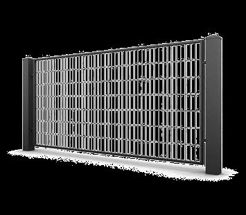 Система елементів для огорожі CLASSIC для дому. Візерунок AW.VA.55