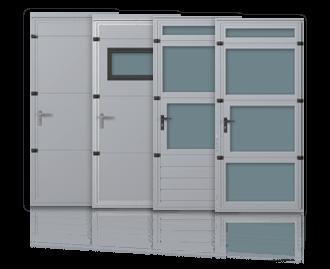Бокові та прохідні двері для секційних промислових воріт