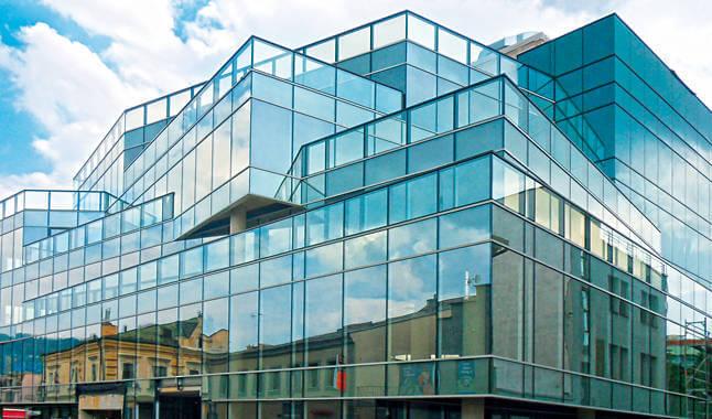 Алюмінієві та сталеві фасади wisniowski
