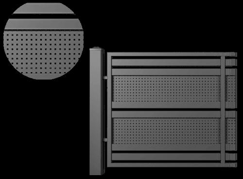 Системні елементи для огорожі modern wisniowski
