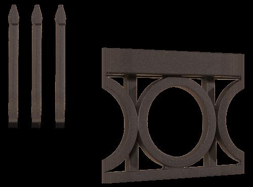 Колекція системи елементів для огорожі style wisniowski