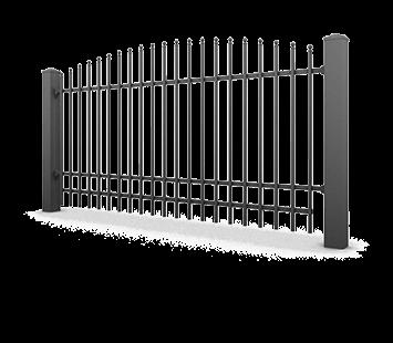 Система елементів для огорожі PREMIUM для дому. Візерунок AW.10.63