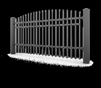 Система елементів для огорожі PREMIUM для дому. Візерунок AW.10.64