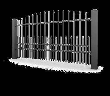 Система елементів для огорожі PREMIUM для дому. Візерунок AW.10.65