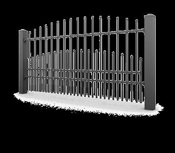 Система елементів для огорожі PREMIUM для дому. Візерунок AW.10.66