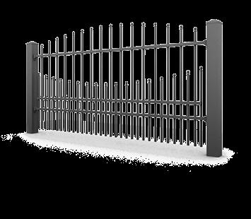 Система елементів для огорожі PREMIUM для дому. Візерунок AW.10.67