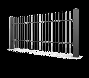 Система елементів для огорожі PREMIUM для дому. Візерунок AW.10.69