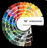 Гама кольорів wisniowski