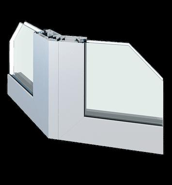 Зовнішні алюмінієві стінки та перегородки wisniowski