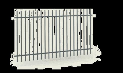 Промислові секції wisniowski. Сегмент огорожі OPO 251