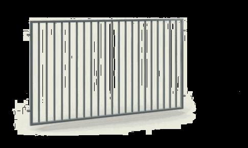 Промислові секції wisniowski. Сегмент огорожі OPZ 252