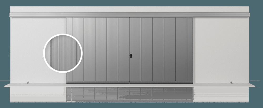 Відкатні підвісні ворота Slide Pro З для промислових об'єктів