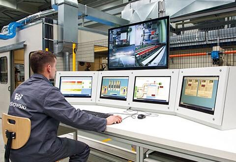 Повністю автоматизований і контрольований виробничий процес wisniowski