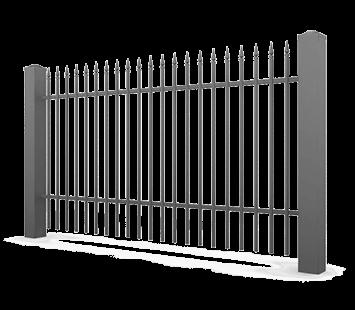 Система елементів для огорожі VARIO для дому. Візерунок AW.10.81