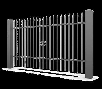 Система елементів для огорожі VARIO для дому. Візерунок AW.10.82