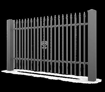 Система елементів для огорожі VARIO для дому. Візерунок AW.10.83
