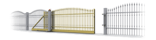 Застосування розсувні та відкатні ворота для огорожі wisniowski